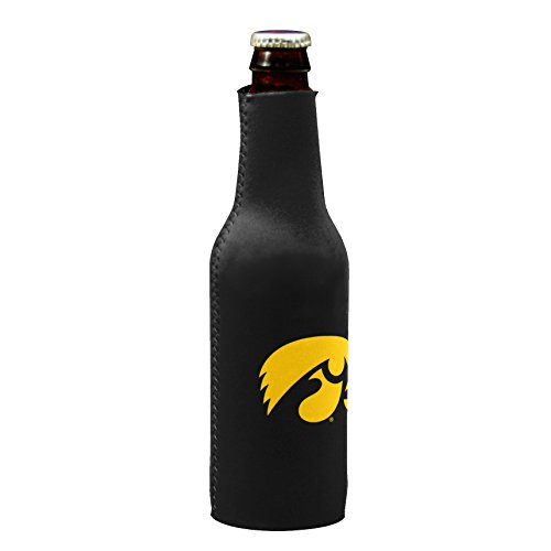 (NCAA Iowa Hawkeyes Bottle Drink Coozie)