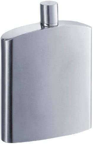 Amazon Com Visol Inspira Stainless Steel Liquor Flask Satin Finish 8 Ounce Chrome Alcohol And Spirits Flasks Flasks