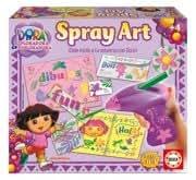 Educa Borrás 14763 - Spray Art Dora La Exploradora