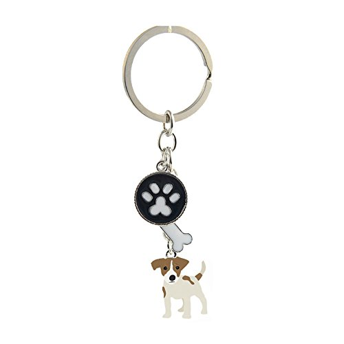 Key-ring Keychain,Cute Metal Small Dog Puppy Keychain, used for sale  Delivered anywhere in USA