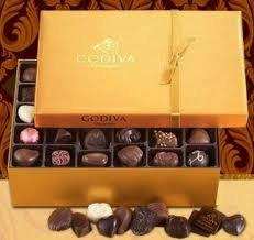 Godiva Gold Ballotin Assorted 70-Piece Box