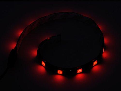 Silverstone Tek Flexible 30cm LED 12-Inch Light Strip (LS01R) by SilverStone Technology (Image #1)