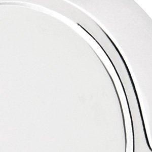 - Emtek 3 1/2 x 3 1/2 Square Corners Residential Plain Bearing, Solid Brass 10 finish options (Polished Chrome US26)