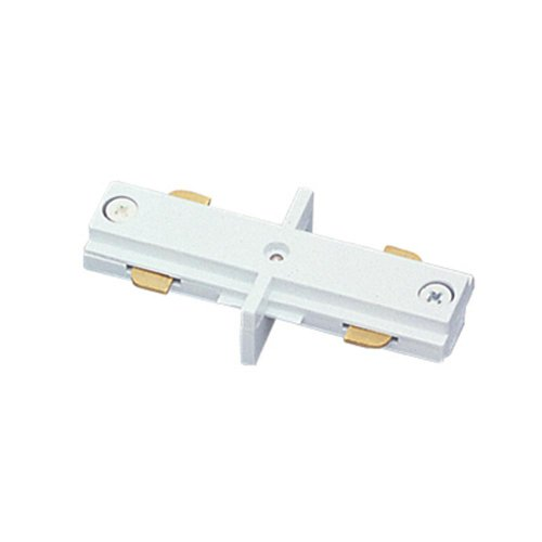 Jesco Lighting HIJSC Accessory - Mini I-Connector, Track Options: H - 3-Wire Single Circuit Trac, Choose Finish: SC: Satin Chrome