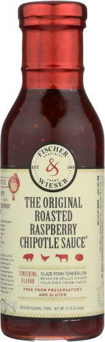 - Fischer & Wieser Sauce Chipotle Roasted Raspberry - 15.8 oz (Pack of 1)