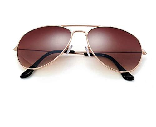 Calidad Sol Gafas Aviador Buena de Espejo 100 con Fotocromático Marrón Gafas protección Unisex UV400 Polarizadas Gradiente Polarizadas Sol Piloto Aviador De ww1CqH