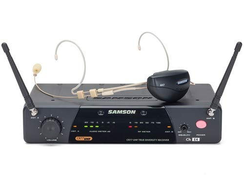 Samson Airline 77 AH7 Wireless System (Headset, Ch K6) by Samson Technologies