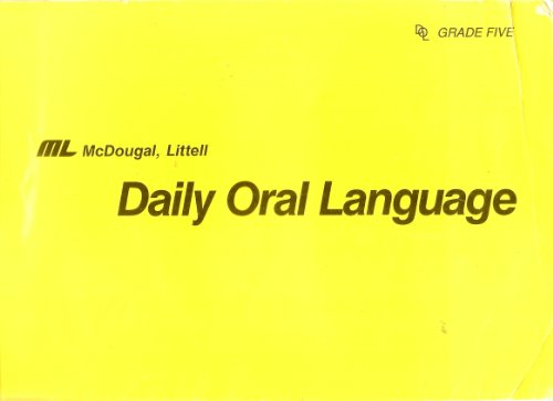 Daily Oral Language: Level 5 (Daily Oral Language)