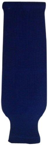 DoGree Hockey Solid Color Knit Hockey Socks, Royal, Youth/20-Inch