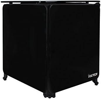 Vultech CUBE-X1N Carcasa de Ordenador Cubo Negro - Caja de Ordenador (Cubo, PC, Cristal acrílico, Acero Inoxidable, Negro, Micro ATX,Mini-ATX, RoHS): Amazon.es: Informática