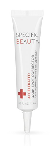 Specific Beauty - Accelerated Dark Spot Corrector - Paraben Free Mark Remover & Blemish Eraser Fade Cream - 90 Day Supply/0.5 Ounce (Best Products For Dark Spots And Hyperpigmentation)