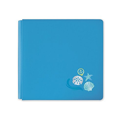 12x12 Cool Serenity Travel Album Cover by Creative Memories (Travel Album Memories Creative)