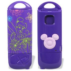Disney Mix Stick MP3 Player - Tinker Bell 2 Purple (775 Stick)