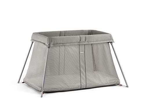 Find Bargain BABYBJORN Travel Crib Easy Go, Greige