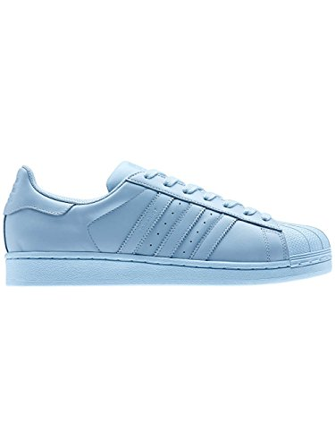 adidas Superstar Foundation Herren Sneakers CLEAR SKY/CLEAR SKY/CLEAR SKY
