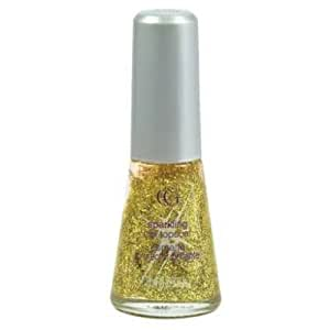 Cover Girl Queen Collection Nail Polish Sparkling Topcoat - Gold - 2 Pack