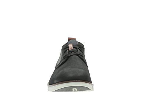 Clarks Trigen Lace, Zapatos de Cordones Derby para Hombre negro