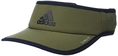 - adidas Men's Superlite Performance Visor, Raw Khaki/Legend Ink, One Size