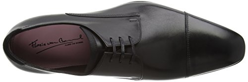 Floris van Bommel Men's 14192/03 Derby Black - Black bNOEhhB