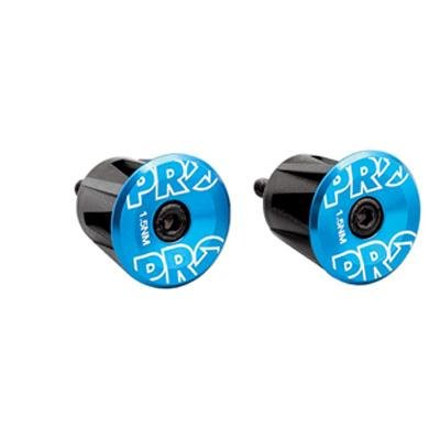 PRO Bicycle Handlebar End Plugs (Blue)