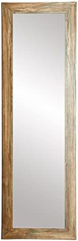 BrandtWorks AZBM34THIN Framed Non Beveled Mirror