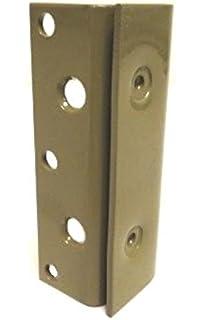 Bed Frame Post Double Hook Slot Bracket