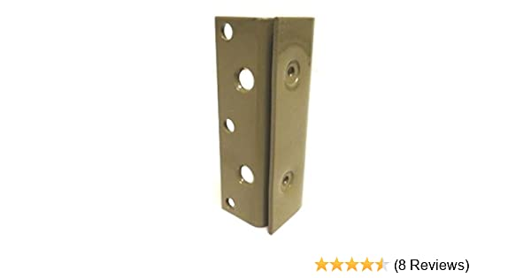 Amazon.com: Bed Frame Bed Post Double Hook Slot Bracket - Set of 4 ...