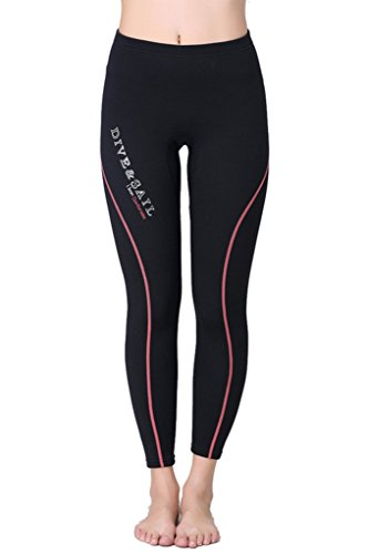 Women's Swim Tights Wetsuit Diving Pant 1.5 mm Neoprene