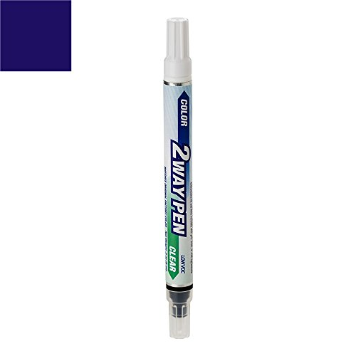 ExpressPaint 2WayPen Honda Accord Automotive Touch-up Paint - Royal Blue Pearl Clearcoat B-536P - All Inclusive Package
