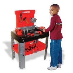 amazon com my first craftsman tool bench toys games