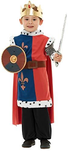 Childrens Boys Girls Historical Knight Weapon Set Prop Top Sword & Shield Fancy Dress Costume ()