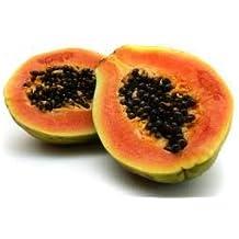 Fresh Whole Red Papayas (Set of 3)