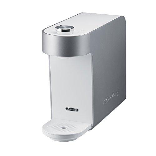 Coway Aquamega 100 Water Purifier, 15.8 x 5.1 x 12.1, White/Silver