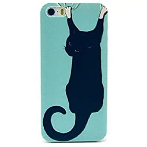 Zaki Black Cat in Wall Case for iPhone 5/5S