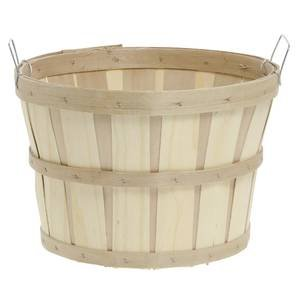Half Bushel Baskets with Side Handles, Set of 6