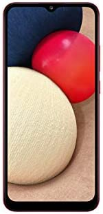 هاتف سامسونج جالكسي اي 02 اس - سعة 32 جيجا، ذاكرة رام 3 جيجا، لون احمر