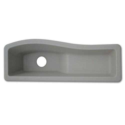 Swanstone Utility Sinks - Swanstone QZES-3011-076 Universal Granite Drop-In or Undermount 30