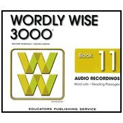 Read Online Wordly Wise 3000 Audio CDs - Book 11 2nd Edition (Wordly Wise 3000 2nd Edition) pdf