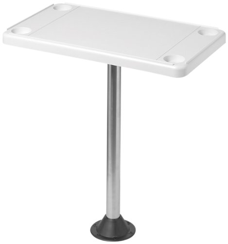 DetMar 12-1106C Removable Rectangular Marine/RV Table