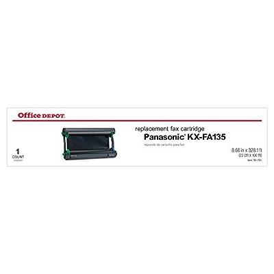 Office Depot 45P (Panasonic KX-FA135) Thermal Fax Cartridge, 1070