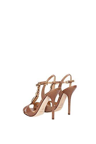 56354 sandalo DOLCE&GABBANA D&G SALE OUTLET scarpa donna shoes women tortora
