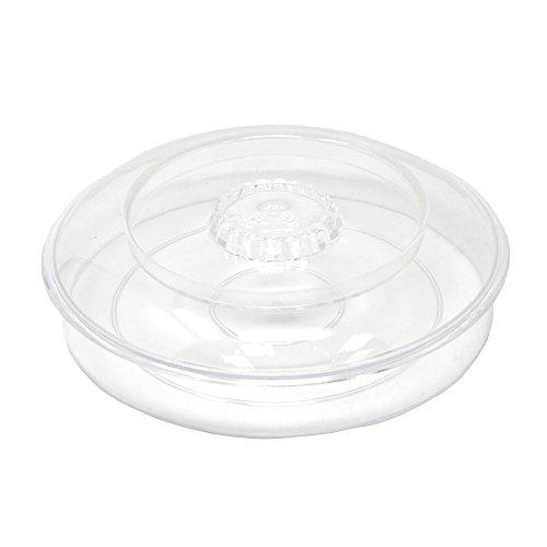 (Homeford Plastic Tortilla Warmer, Clear, 7-1/4-Inch)