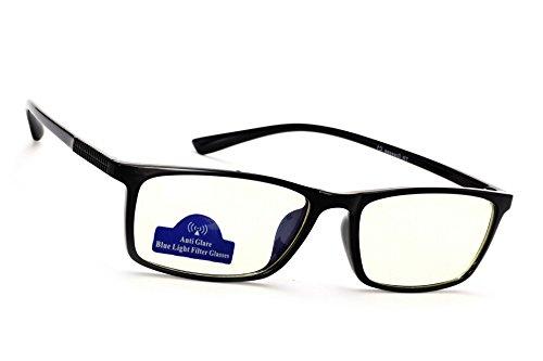 Glare T8020 Glasses pour Lentille Hommes bleue Computer Anti lumière UV Lunettes MFAZ Anti de Reflex Claire TV Ltd Lunettes Morefaz femmes Radia Black Gaming Filtre SxO5qxzwU
