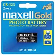 Maxell 2-Pack 3-Volt Lithium Photo Battery For Cameras (CR-1232B)