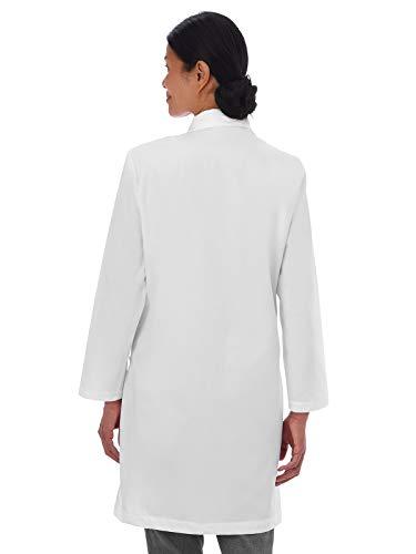 Meta Fundamentals 15113 Women's 37'' Lab Coat White 3XL by Meta Labwear (Image #2)