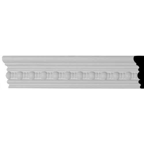Beaded Moulding - Ekena Millwork MLD02X00BE 2 5/8-Inch H x 7/8-Inch P x 94 1/2-Inch L Beaded Panel Moulding by Ekena Millwork