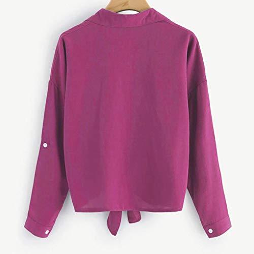 Amazon.com: Sale! Teresamoon Women Embroidered Cat Knotted Hem Shirt Long Sleeve Blouse Button Tops: Car Electronics