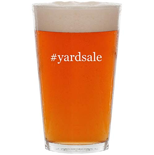 #yardsale - 16oz Hashtag Pint Beer -