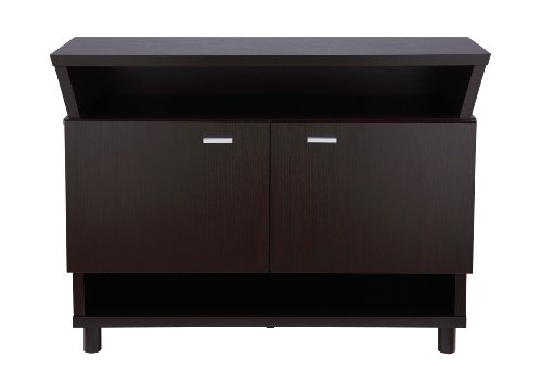 ioHOMES Crestview Contemporary Buffet Sideboard, Cappuccino