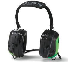 Sensear SMNE0001SM Earmuff - Behind the neck by Sensear